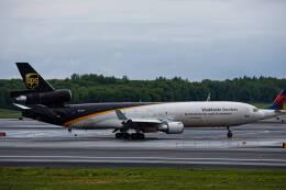 Airliners Freakさんが、テッドスティーブンズ・アンカレッジ国際空港で撮影したUPS航空 MD-11Fの航空フォト(飛行機 写真・画像)