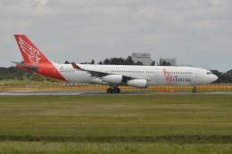 Deepさんが、成田国際空港で撮影したエア・レジャー A340-212の航空フォト(飛行機 写真・画像)