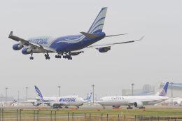 ladyinredさんが、成田国際空港で撮影したナショナル・エアラインズ 747-428(BCF)の航空フォト(飛行機 写真・画像)