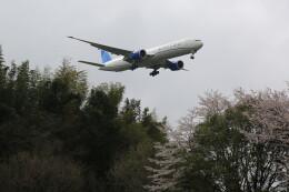 flyskyさんが、成田国際空港で撮影したユナイテッド航空 777-322/ERの航空フォト(飛行機 写真・画像)
