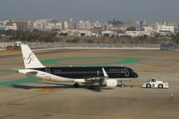 Smyth Newmanさんが、福岡空港で撮影したスターフライヤー A320-214の航空フォト(飛行機 写真・画像)