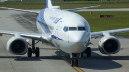 Bluewingさんが、宮古空港で撮影した全日空 737-881の航空フォト(飛行機 写真・画像)