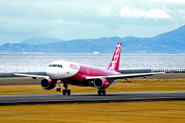 kiyochanさんが、大分空港で撮影したピーチ A320-214の航空フォト(飛行機 写真・画像)