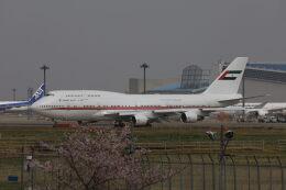 maru74さんが、成田国際空港で撮影したドバイ・ロイヤル・エア・ウィング 747-433Mの航空フォト(飛行機 写真・画像)