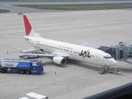 thomasYVRさんが、神戸空港で撮影したJALエクスプレス 737-446の航空フォト(飛行機 写真・画像)