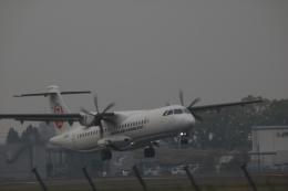クリューさんが、鹿児島空港で撮影した日本エアコミューター ATR-72-600の航空フォト(飛行機 写真・画像)