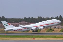 ぼのさんが、成田国際空港で撮影したドバイ・ロイヤル・エア・ウィング 747-433Mの航空フォト(飛行機 写真・画像)
