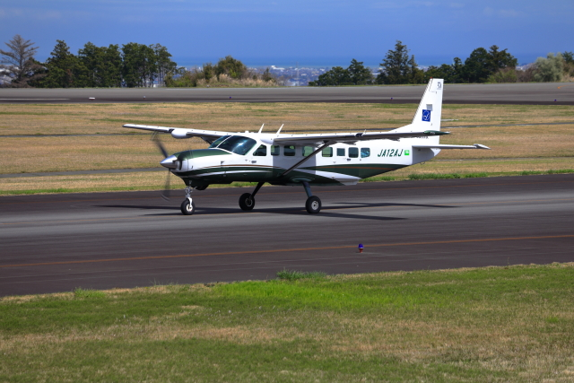 Judy1009さんが、静岡空港で撮影した日本エアロスペース 208B Grand Caravanの航空フォト(飛行機 写真・画像)