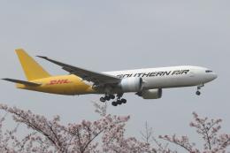 ゴンタさんが、成田国際空港で撮影したサザン・エア 777-FZBの航空フォト(飛行機 写真・画像)