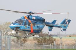 ゴンタさんが、成田国際空港で撮影した千葉県警察 BK117C-1の航空フォト(飛行機 写真・画像)