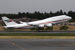 sin747さんが、成田国際空港で撮影したドバイ・ロイヤル・エア・ウィング 747-433Mの航空フォト(飛行機 写真・画像)