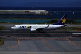 M.airphotoさんが、那覇空港で撮影したスカイマーク 737-8FZの航空フォト(飛行機 写真・画像)