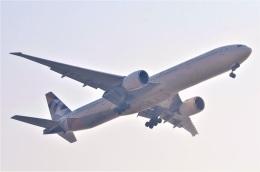 amagoさんが、スワンナプーム国際空港で撮影したエティハド航空 777-3FX/ERの航空フォト(飛行機 写真・画像)