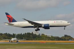 Deepさんが、成田国際空港で撮影したデルタ航空 777-232/LRの航空フォト(飛行機 写真・画像)