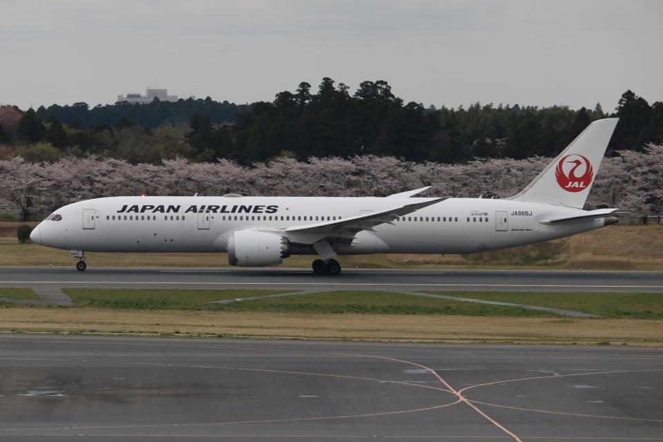 SIさんの日本航空 Boeing 787-9 (JA866J) 航空フォト