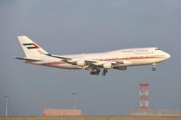 あおいそらさんが、関西国際空港で撮影したドバイ・ロイヤル・エア・ウィング 747-433Mの航空フォト(飛行機 写真・画像)