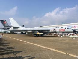 うっきーさんが、珠海金湾空港で撮影した中国人民解放軍 海軍 H-6の航空フォト(飛行機 写真・画像)