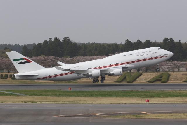 VIPERさんが、成田国際空港で撮影したドバイ・ロイヤル・エア・ウィング 747-433Mの航空フォト(飛行機 写真・画像)