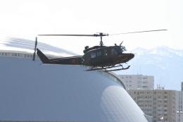 熱血男子さんが、札幌飛行場で撮影した陸上自衛隊 UH-1Jの航空フォト(飛行機 写真・画像)