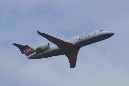 れぐぽよさんが、小松空港で撮影したアイベックスエアラインズ CL-600-2B19 Regional Jet CRJ-100LRの航空フォト(飛行機 写真・画像)