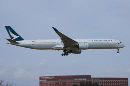 yabyanさんが、成田国際空港で撮影したキャセイパシフィック航空 A350-1041の航空フォト(飛行機 写真・画像)