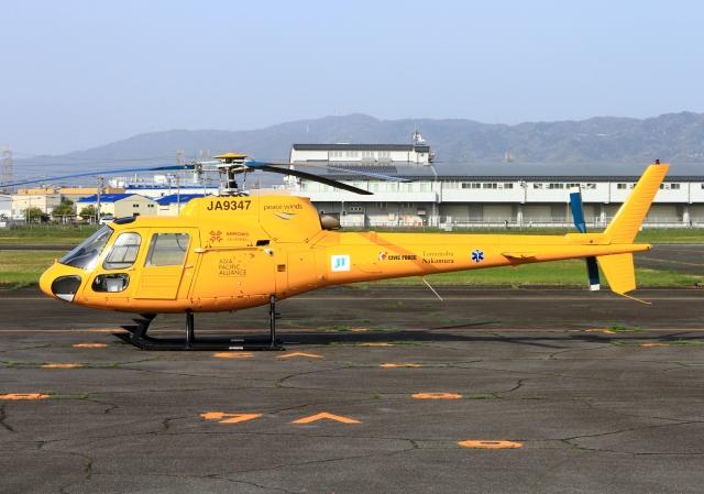航空フォト:JA9347 高橋ヘリコプターサービス