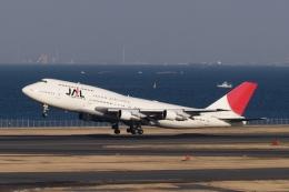 木人さんが、羽田空港で撮影した日本航空 747-346の航空フォト(飛行機 写真・画像)