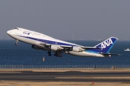 木人さんが、羽田空港で撮影した全日空 747-481(D)の航空フォト(飛行機 写真・画像)