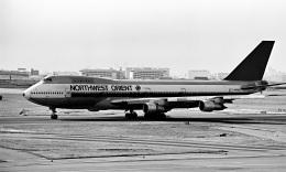 Y.Todaさんが、羽田空港で撮影したノースウエスト航空 747-151の航空フォト(飛行機 写真・画像)