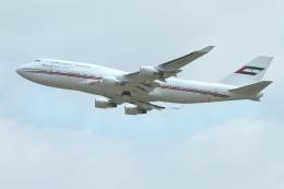 nh747dさんが、成田国際空港で撮影したドバイ・ロイヤル・エア・ウィング 747-433Mの航空フォト(飛行機 写真・画像)