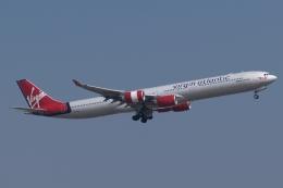 木人さんが、成田国際空港で撮影したヴァージン・アトランティック航空 A340-642の航空フォト(飛行機 写真・画像)