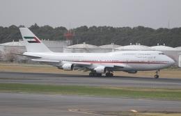 ☆ゆっきー☆さんが、成田国際空港で撮影したドバイ・ロイヤル・エア・ウィング 747-433Mの航空フォト(飛行機 写真・画像)