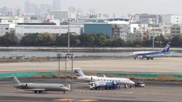 誘喜さんが、羽田空港で撮影したウィルミントン・トラスト・カンパニー G650 (G-VI)の航空フォト(飛行機 写真・画像)