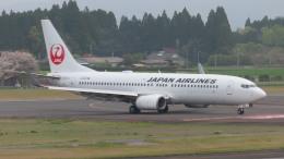 KT 327@KOJさんが、鹿児島空港で撮影した日本航空 737-846の航空フォト(飛行機 写真・画像)