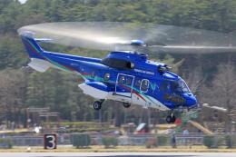 Nao0407さんが、松本空港で撮影した東北エアサービス AS332L1 Super Pumaの航空フォト(飛行機 写真・画像)