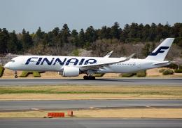 NINEJETSさんが、成田国際空港で撮影したフィンエアー A350-941の航空フォト(飛行機 写真・画像)