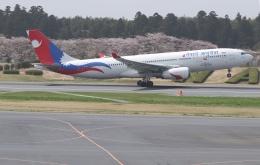 ☆ゆっきー☆さんが、成田国際空港で撮影したネパール航空 A330-243の航空フォト(飛行機 写真・画像)