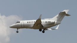 raichanさんが、成田国際空港で撮影したSeletar Jet Charter Hawker 800の航空フォト(飛行機 写真・画像)