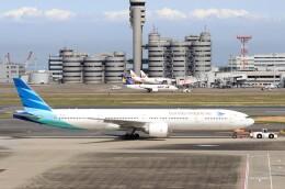ハム太郎。さんが、羽田空港で撮影したガルーダ・インドネシア航空 777-3U3/ERの航空フォト(飛行機 写真・画像)