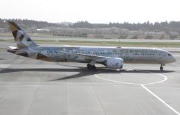 ☆ゆっきー☆さんが、成田国際空港で撮影したエティハド航空 787-9の航空フォト(飛行機 写真・画像)