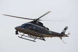 俊夫さんが、東京ヘリポートで撮影した警視庁 A109S Trekkerの航空フォト(飛行機 写真・画像)