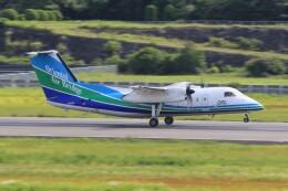 俊夫さんが、長崎空港で撮影したオリエンタルエアブリッジ DHC-8-201Q Dash 8の航空フォト(飛行機 写真・画像)