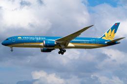 さんごーさんが、成田国際空港で撮影したベトナム航空 787-9の航空フォト(飛行機 写真・画像)