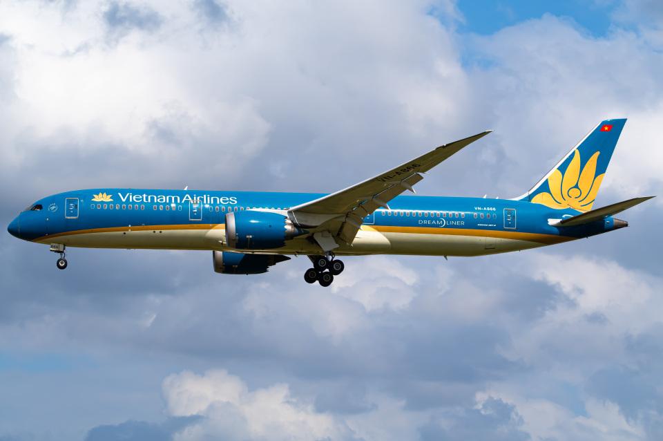 さんごーさんのベトナム航空 Boeing 787-9 (VN-A866) 航空フォト