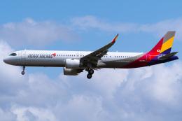 さんごーさんが、成田国際空港で撮影したアシアナ航空 A321-251NXの航空フォト(飛行機 写真・画像)