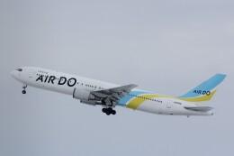 俊夫さんが、旭川空港で撮影したAIR DO 767-33A/ERの航空フォト(飛行機 写真・画像)