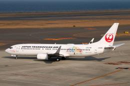 なごやんさんが、中部国際空港で撮影した日本トランスオーシャン航空 737-8Q3の航空フォト(飛行機 写真・画像)