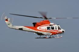 YOSANさんが、札幌飛行場で撮影した北海道防災航空隊 412EPの航空フォト(飛行機 写真・画像)