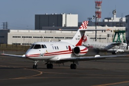 YOSANさんが、札幌飛行場で撮影した航空自衛隊 U-125 (BAe-125-800FI)の航空フォト(飛行機 写真・画像)