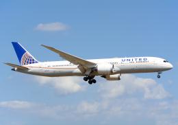 NINEJETSさんが、成田国際空港で撮影したユナイテッド航空 787-9の航空フォト(飛行機 写真・画像)